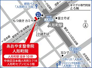 人形町地図